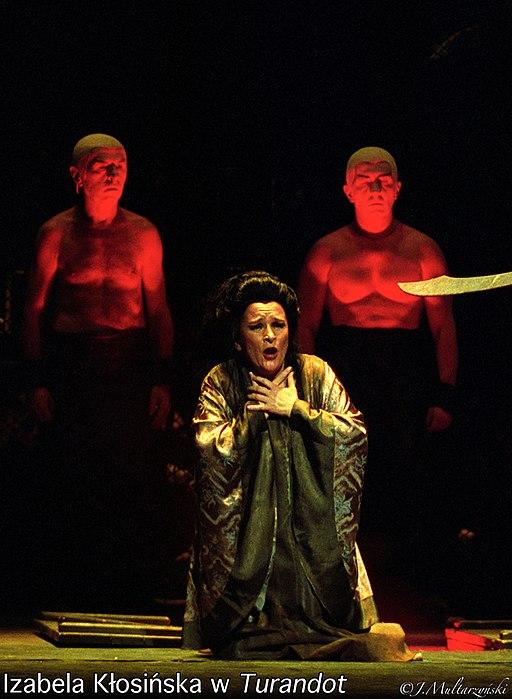 Izabela Klosinska as Liu in Turandot Image by Juliusz Multarzynski