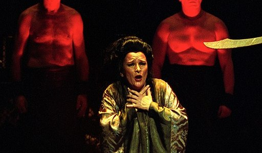 Izabela Klosinska as Liu in Turandot Image by Juliusz Multarzynski